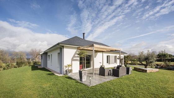 Maisons Aquitaine : Une maison moderne dans les Landes