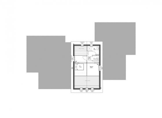 plan-modele-maison-contemporaine-etage-ilbarritz