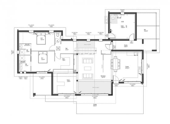 plan-modele-maison-contemporaine-rdc-ilbarritz